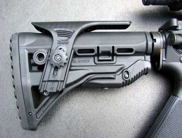 FAB Defence GL SHOCK STOCK BLK