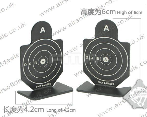 FMA Metal Targets 4