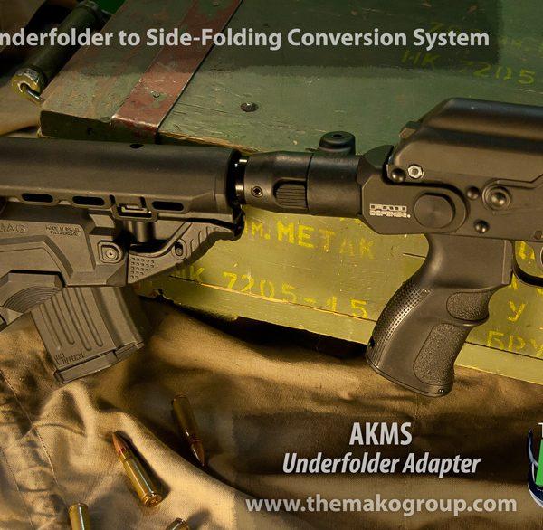 Fab Defence Style GK- MAG AK47 magazine housing stock Rear
