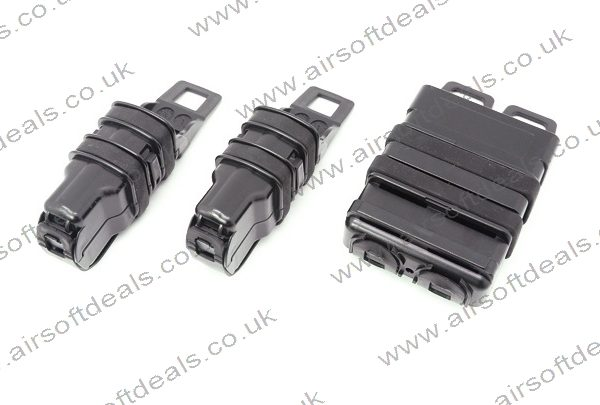 Fast Mag 5.56 + 9mm pouches Black 2