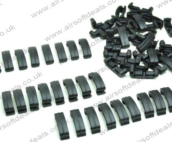 Larue style Index clips Black (60 piece set) 2