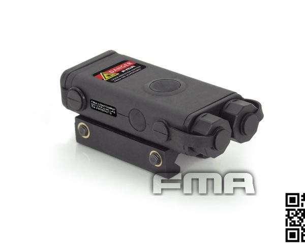 PEQ 10 Red Laser And Flashlight BLK 1