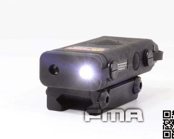 PEQ 10 Red Laser And Flashlight BLK 3