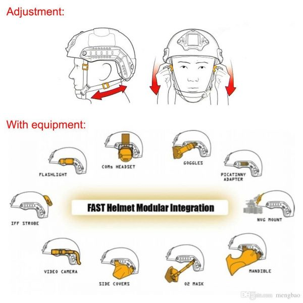 Special Forces Tactical Helmet 2