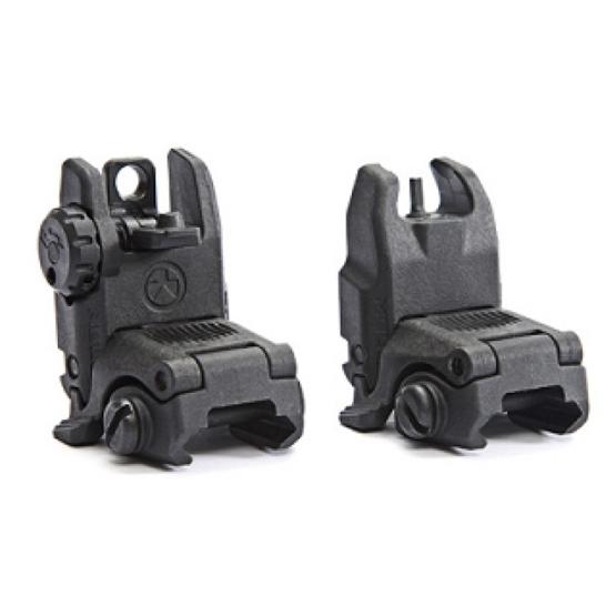 airsoft back up sights for bb guns