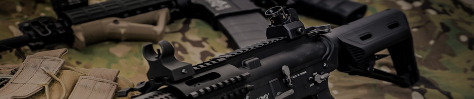 Banner showing airsoft discounts