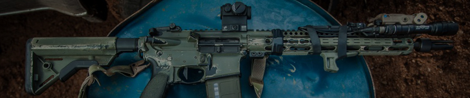 A banner which shows clearance airsoft accessories