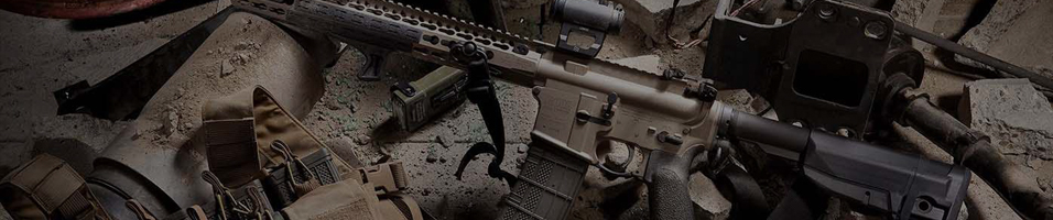 A banner which shows the sales for airsoft accessories